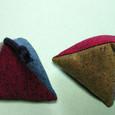 三角おもちゃ・和布藍染め風